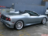 Ferrari 360 Spyder with 19x8.5