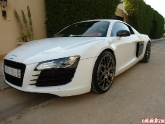 Audi R8 with HRE P40 Chrome 19 inch