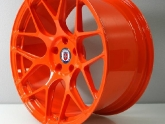 HRE P40SC Conical Monobloks Red