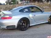 """Porsche 996GT2 with HRE CF40 19"""" Gloss Black Wheels"""