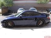 "HRE Wheels P40 Monoblock 19"" Porsche 996TT"