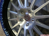 HRE Wheel Brushed Center Flat Black Lip