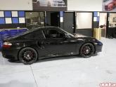 HRE P43 Flat Black 19x8.5 and 19x11 Porsche 996TT