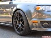 HRE Wheels P40 Monoblock Flat Black Audi RS4
