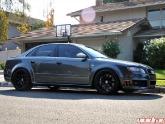 HRE Wheels Monoblock P40 Flat Black Audi RS4