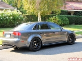 HRE Wheels Monoblock P40 Flat Black Audi RS4