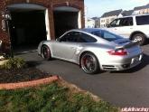 Hre 843r Wheels Satin Charcoal 20x9 20x12 Porsche 997tt