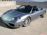 Ferrari 360 With Hre M40's Brushed