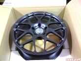 HRE 19inch Flat Black P40 Monoblock Wheels