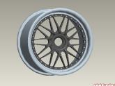 2010 Porsche 997.2 GT3 Pin Drive HRE Competition Wheels