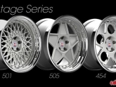 HRE Vintage Wheels 501 505 454 3piece Wheels