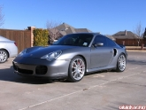 "Hre P43 19"" Brushed Wheels Porsche 996tt"