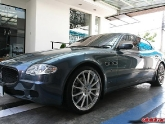 Maserati Quattroporte with HRE M49 Wheels