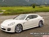 HRE Wheels Photoshopped on Porsche Panamera