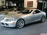 Mercedes SLR with 20x9