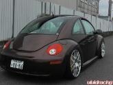 Vw Beetle On 20inch P40 Hre Wheels
