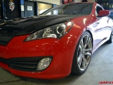 Genesis Coupe with Spacers