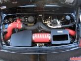 Red Intake Kit Installed