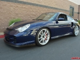 Jeff's Porsche 996TT with new AP 1pc Forged Wheels