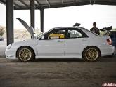 "2005 Sti. 17x9"" Volks On The Dd/track Car"
