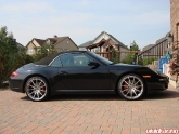 """Kyeung 997C2s with HRE P43 20"""" wheels"""