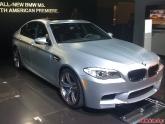 2012 BMW M5 at LA Auto Show