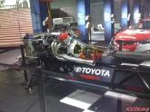 Toyota Race Engine at LA Auto Show 2011