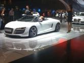 Audi R8 Spyder at LA Auto Show 2011