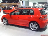 Volkswagen Golf R at LA Auto Show 2011