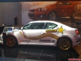 Bucky Lasek Scion TC Racecar at LA Auto Show 2011