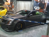 Cadillac CTS-V Coupe at LA Auto Show 2011