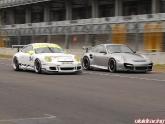 Porsche 997 Cup Car vs 997 Turbo