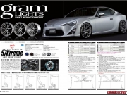 2012 Rays Wheels Catalog Gramlights 57X Scion FRS