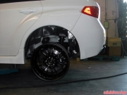 STI Volk Wheel Test Fit