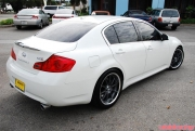 Volk Racing GTF Wheels on Infiniti G35