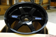Volk TE37 Gloss Black Porsche 996TT 19x8.5 and 19x12