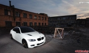 Volk Racing Bronze TE37 on BMW 335i