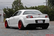 Volk Racing Red RE30 on RX8