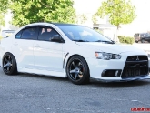 EVO X with Advan TCIII Wheels