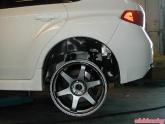 STI Volk Wheel Test Fit