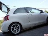 Toyota Yaris with Advan RG2 Wheels