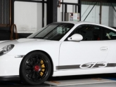Volk Center Lock Wheels on Porsche GT3