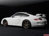 Volk Racing TE37 Bronze Wheels Porsche 997 GT3
