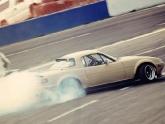 Mazda Miata Drifting with Work Meister Wheels
