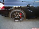 black porsche wheel