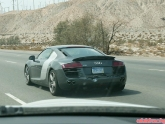 Audi R8 Driving with Damage