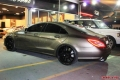 Mercedes CLS63 with KW Suspension Brembo 21in Carlsson Wheels