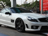 ADV1 ADV05 Track Spec 20x9.0 20x11.0 Matte Black Center Gloss Black Lip Mercedes SL63 08-10