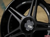 ADV1 ADV05 Matte Black Center Gloss Black Outer/Inner White ADV.1/Track Spec Logo