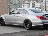 Mercedes CLS63 with KW Coilovers Agency Power Wing HRE Wheels